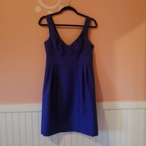 Gorgeous navy blue flawless dress with cutout back